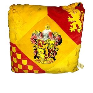 Harry potter Gryffindor yellow&red throw pillow